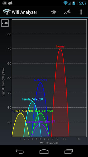 Wifi Analyzer 3.11.2 preview 1