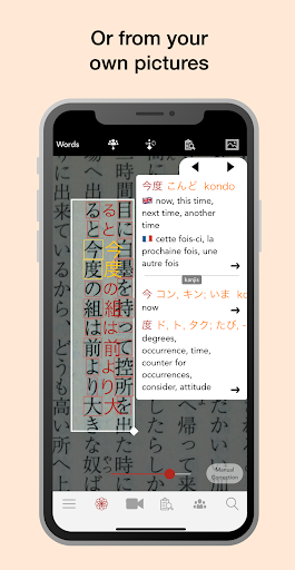 Yomiwa – Japanese Dictionary and OCR 3.6.4 preview 2