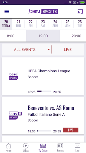 beIN SPORTS 4.14.1 preview 2