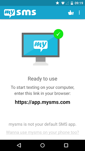 mysms SMS Text Messaging Sync 7.0.4 preview 1