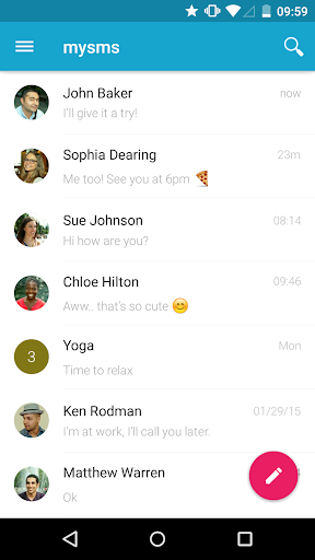 mysms SMS Text Messaging Sync 7.0.4 preview 2