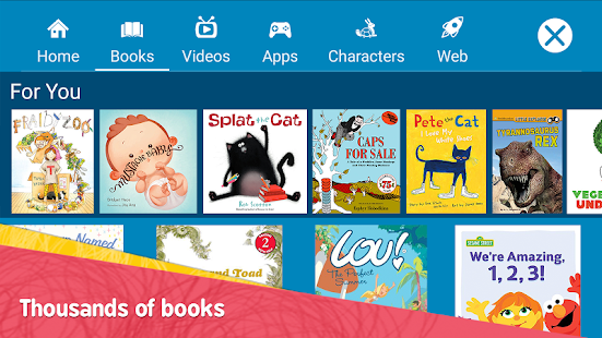 Amazon FreeTime Kids Videos Books amp TV shows preview 2