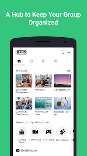 BAND – App for all groups preview 1