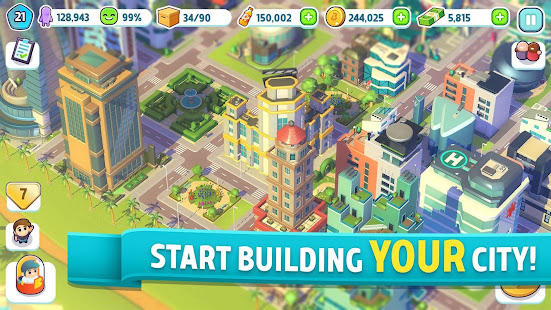 City Mania Town Building Game 1.9.2a preview 1