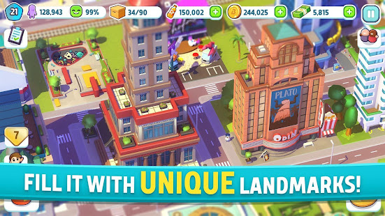 City Mania Town Building Game 1.9.2a preview 2