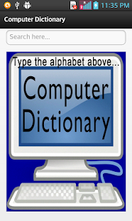Computer Dictionary preview 1