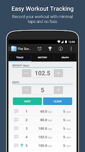 FitNotes – Gym Workout Log preview 2