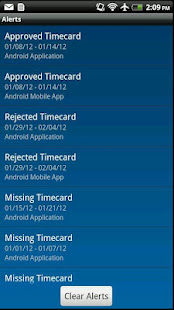 IQNavigator Timecards preview 1