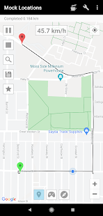 Mock Locations fake GPS path 1.76 preview 1