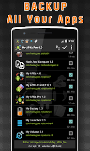 My APKs Pro – backup manage apps apk advanced preview 1