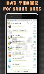 My APKs Pro – backup manage apps apk advanced preview 2