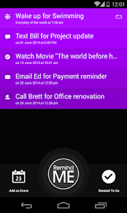 Remind Me – Quick Reminder App preview 2