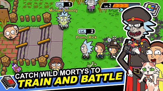 Rick and Morty Pocket Mortys 2.26.0 preview 1