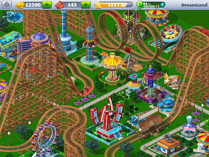 RollerCoaster Tycoon 4 Mobile preview 1
