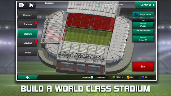 Soccer Manager 2019 – Top Football Management Game 1.3.0 preview 2