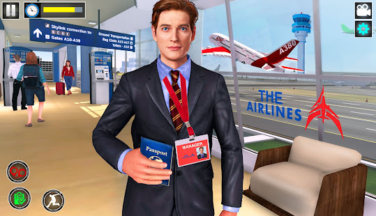 Virtual City Police Airport Manager Family Games 3.0.3 preview 1