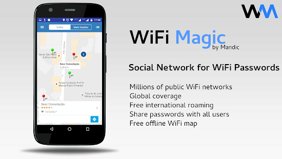 WiFi Magic by Mandic Passwords 3.9.34 preview 1