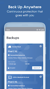 Acronis True Image Mobile 5.2.0 preview 1