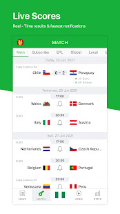 All Football – Live Scores amp News for Euro 2020 3.4.2 preview 1
