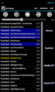ArmAmp Music Player 1.16 preview 2