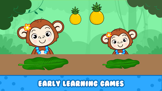 Balloon Pop Kids games for preschool toddlers 2 yr preview 2