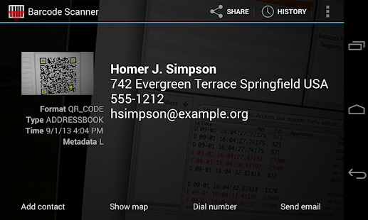 Barcode Scanner 4.7.8 preview 1
