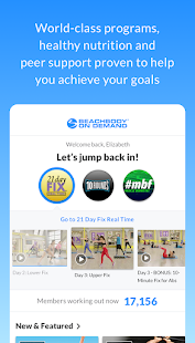 Beachbody On Demand – The Best Fitness Workouts 6.0.2 preview 1