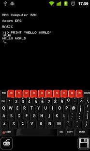 Beebdroid BBC Micro emulator 2.0 preview 1