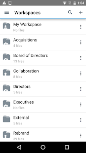 BlackBerry Workspaces preview 1