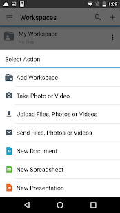 BlackBerry Workspaces preview 2