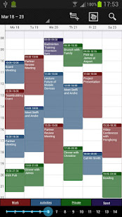 Business Calendar Pro Varies with device preview 2