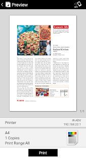 Canon PRINT Business 7.0.1 preview 2
