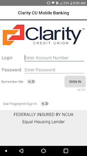 Clarity CU Mobile Banking preview 1