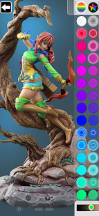 ColorMinis Painting -3D Art Coloring amp Design Tool 7.0 preview 1