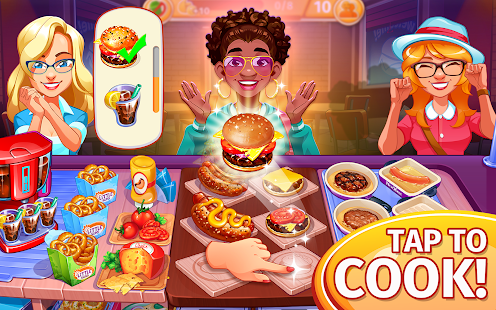 Cooking Craze Restaurant Game preview 1