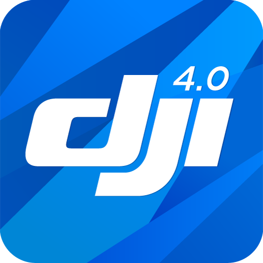 DJI GO 4--For drones since P4 logo