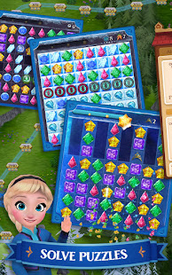 Disney Frozen Free Fall – Play Frozen Puzzle Games 10.8.0 preview 1