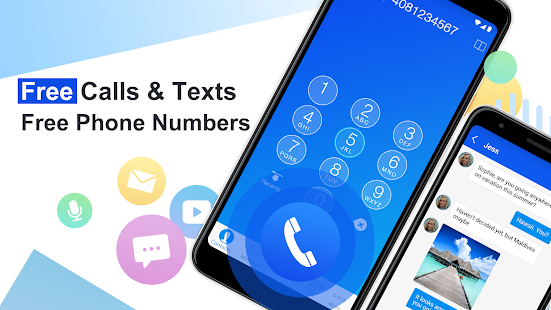 Free Phone Call App Free Texting Calling Number preview 1