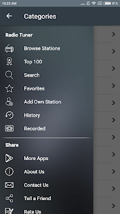 Free Radio Tuner preview 2