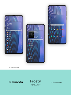 Frosty for KLWP v2021.May.07.11 preview 1
