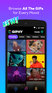 GIPHY GIF amp Sticker Keyboard amp Maker 4.2.13 preview 1