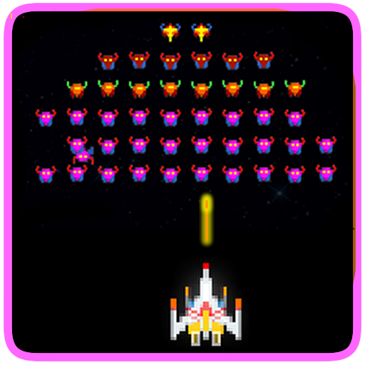 Galaxy Storm - Galaxia Invader (Space Shooter) logo
