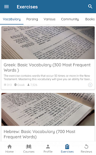 Ginoskos Learn Biblical Languages 6.1-neos preview 2