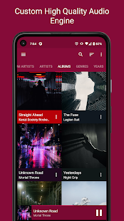 GoneMAD Music Player Trial preview 2