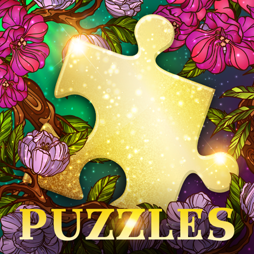 Good Old Jigsaw Puzzles - Free Puzzle Games logo