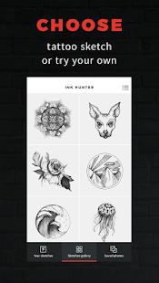 INKHUNTER – try tattoo designs preview 1