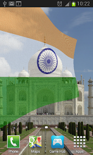 India Flag Live Wallpaper 4.2 preview 1