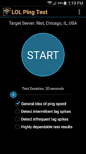 LOL Ping Test 1.0 preview 1