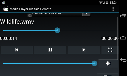 Media Player Classic Remote 1.2 preview 2