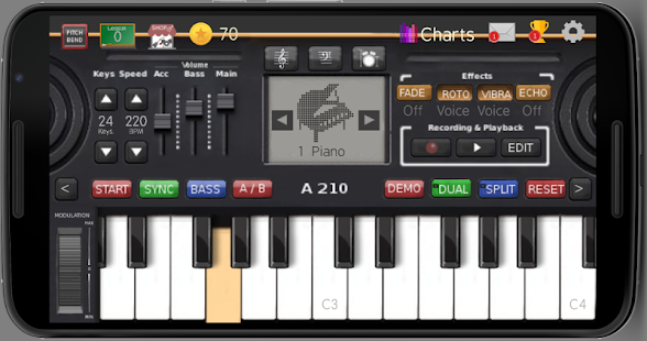 Music Keyboard 10.71 preview 1
